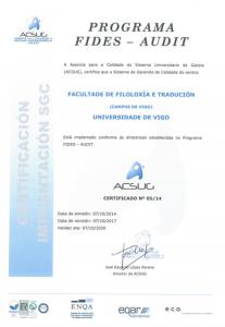Certificado Acsug